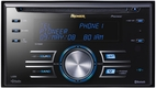 Pioneer (FH-P800BT) Premier Double-DIN CD Receiver with Built-In Bluetooth Wireless and USB Direct Control of iPod