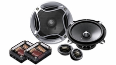 """Pioneer (TS-A1302C) 5¼"""" Component Speaker Package with 180 Watts Max. Power"""