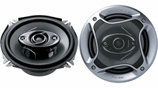 "Pioneer (TS-A1782R) 6¾"" (Oversized 6½"") 4-Way Speaker with 280 Watts Maximum Power"