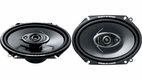 "Pioneer (TS-A6872R) 6"" x 8"" 3-Way Speaker with 240 Watts Max. Power"
