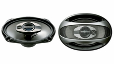 "Pioneer (TS-A6973R) 6"" x 9"" 3-Way Speaker with 300 Watts Max. Power"