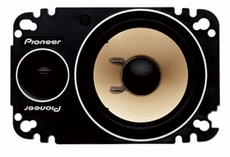 """Pioneer (TS-P462) 4"""" x 6"""" 2-Way Component Plate Speaker with 150 Watts Maximum Power"""