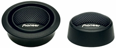"""Pioneer (TS-T15) ¾"""" Soft Dome Tweeter with 120 Watts Maximum Power"""