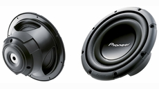 "Pioneer (TS-W303R) 12"" Component Subwoofer with 1200 Watts Max. Power"
