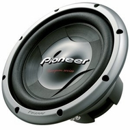 """Pioneer (TS-W308D2) 12"""" Champion Series Subwoofers with 1400 Watts Max. Power"""