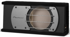 "Pioneer (UD-SW10B) 10"" Shallow Sealed Enclosure for Behind-Seat Use"