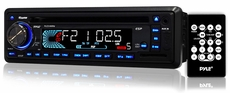 Pyle (PLCD34MRW) AM/FM-MPX IN-Dash Marine CD/MP3 Player/Weatherband/USB & SD Card Function