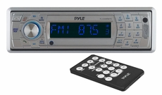 Pyle (PLCD5MRBTS) AM/FM Marine In-Dash Fold Down Detachable Face Radio w/CD/MP3/USB/SD/AUX Input with Bluetooth Wireless Technology