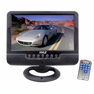Pyle (PLMN9SU) 9'' Universal Multimedia Monitor with USB/SD Card Readers, AV Input/AV Output, Headphone Jack & Rechargeable Battery