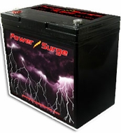 Power Surge (600) 1500 Watts, Sealed Gel Cell Battery, 12V, 60 Amp Hour