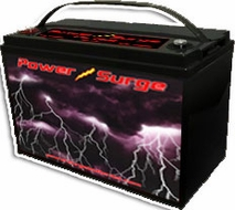 Power Surge (750) 1750 Watts, Sealed Gel Cell Battery, 12V, 75 Amp Hour
