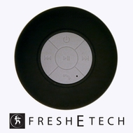 Fresh eTech (PremiumBlack) Black Splash Shower Tunes Premium - Wireless Shower Speaker