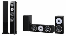 Pure Acoustics (NobleSetB) 5 Piece Surround Sound System (Black)