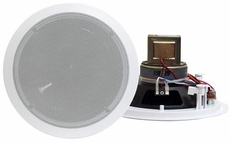 Pyle Home (PDIC60T) 6.5'' Two-Way In-Ceiling Speakers w/70V Transformer