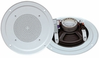Pyle Home (PDICS54) 5'' Full Range In Ceiling Speaker System W/Transformer