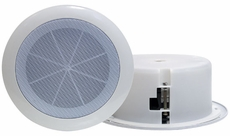 Pyle Home (PDICS6) 6.5'' Full Range In-Ceiling Flush Mount Enclosure Speaker System