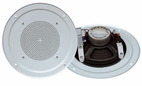 Pyle Home (PDICS64) 6-1/2'' Full Range In-Ceiling Speaker System W/Transformer