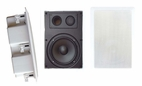 Pyle Home (PDIW67) 6.5'' Two Way In Wall Enclosed Speaker System w/ Directional Tweeter