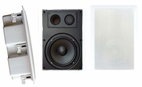 Pyle Home (PDIW87) 8'' Two Way In Wall Enclosed Speaker System w/ Directional Tweeter