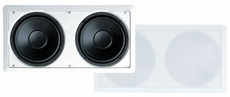 Pyle Home (PDIWS28) Dual 8'' In-Wall High Power in wall Subwoofer System