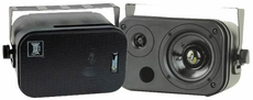 Pyle Home (PDMN38) 3.5'' Two-Way Bass Reflex Mini-Monitor & Bookshelf/wall-mount Speakers