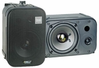 Pyle Home (PDMN48) 5'' Two-Way Bass Reflex Mini-Monitor & Bookshelf/wall mount Speakers