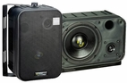 Pyle Home (PDMN58) 6.5'' Two-Way Bass Reflex Mini-Monitor System & Bookshelf/wall mount Speakers