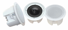 Pyle Home (PDPC82) 8'' In-Ceiling 2-Way Flush Mount Enclosure Speaker System