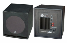 Pyle Home (PDSUB12A) 12'' 500 Watt Front-Firing Powered Subwoofer