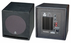 Pyle Home (PDSUB8A) 8'' 300 Watt Front-Firing Book Shelf Powered Subwoofer Speaker