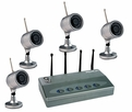 Pyle Home (PDVRJ4) Wireless 4 Color Camera Surveillance Kit