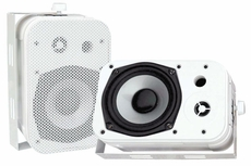 "Pyle Home (PDWR40W) 5.25"" Indoor/Outdoor Waterproof Speakers (White)"