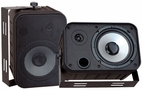 Pyle Home (PDWR50B) 6.5'' Indoor/Outdoor Waterproof Speakers (Black)