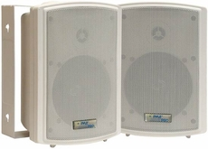 Pyle Home (PDWR5T) 5.25'' Indoor/Outdoor Waterproof Speakers w/30 Watt 70V Transformer
