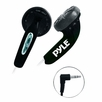 Pyle Home (PEBH25BK) Ultra Slim In-Ear Ear-Buds Stereo Bass Headphones For Ipod/MP3/All Audio source Players (Black)
