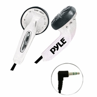 Pyle Home (PEBH25WT) Ultra Slim In-Ear Ear-Buds Stereo Bass Headphones For Ipod/MP3/All Audio source Players (White)