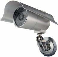 Pyle Home (PHCM29) Indoor/Outdoor Security Camera with 65 Foot Night Vision