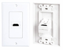 Pyle Home (PHDMIW1) Single HDMI Wall Plate 90 Degree Exit Port