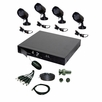Pyle Home (PHDVR40) 4 Channel DVR & 4 Color Camera Surveilance Kit