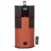 Pyle Home (PHST90ICW) 600 Watt Digital 2.1 Channel Home Theater Tower w/ iPod Docking Station - Cherry Wood Finish