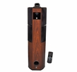 Pyle Home (PHST92ICW) 600 Watt Digital 2.1 Channel Home Theater Tower w/ iPod & iPhone Docking Station - Cherry Wood Finish