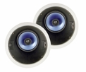 Pyle Home (PIC62A) 250 Watt 6.5'' High Performance Directional Two-Way In-ceiling Speaker System w/Adjustable Treble Control