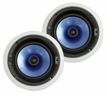 """Pyle Home (PIC8E) 300 Watt High-End 8"""" Two-Way In-ceiling Speaker System w/Adjustable Treble Control"""