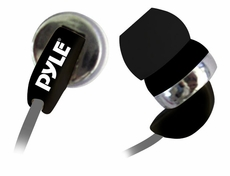 Pyle Home (PIEH40B) Ultra Slim In-Ear Ear-Buds Stereo Ultra Super Bass Headphones For Ipod/MP3/All Audio source Players (Black)