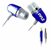Pyle Home (PIEHIP20BL) Ultra Slim In-Ear Ear-Buds Stereo Ultra Bass Headphones/Microphone For Ipod/Iphone (Blue)