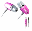 Pyle Home (PIEHIP20P) Ultra Slim In-Ear Ear-Buds Stereo Ultra Bass Headphones/Microphone For Ipod/Iphone (Pink)