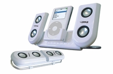 Pyle Home (PIP10) Portable Speaker System For Ipod & Any Other MP3 Player
