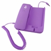 Pyle Home (PIRTR60PUR) Handheld Phone and Desktop Dock for iPhone (Purple Color)