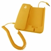 Pyle Home (PIRTR60YL) Handheld Phone and Desktop Dock for iPhone (Yellow Color)