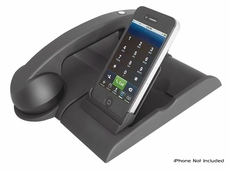 Pyle Home (PITLBT30) Bluetooth Wireless Charging Retro Phone Handset with iPod Docking Station and iTunes Sync For iPhone iPad Andorid and Blackberry